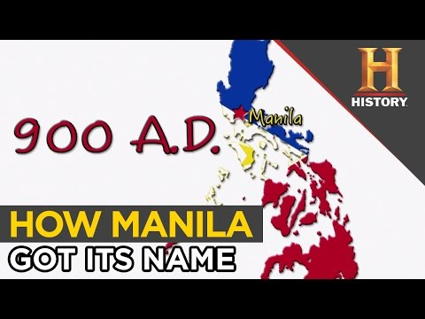Why is Manila Named Manila | The History Hustle
