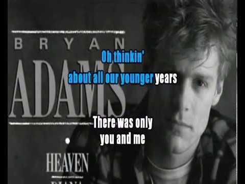 Heaven  - Bryan Adams karaoke