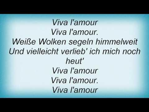 Roland Kaiser - Viva L'amour Lyrics