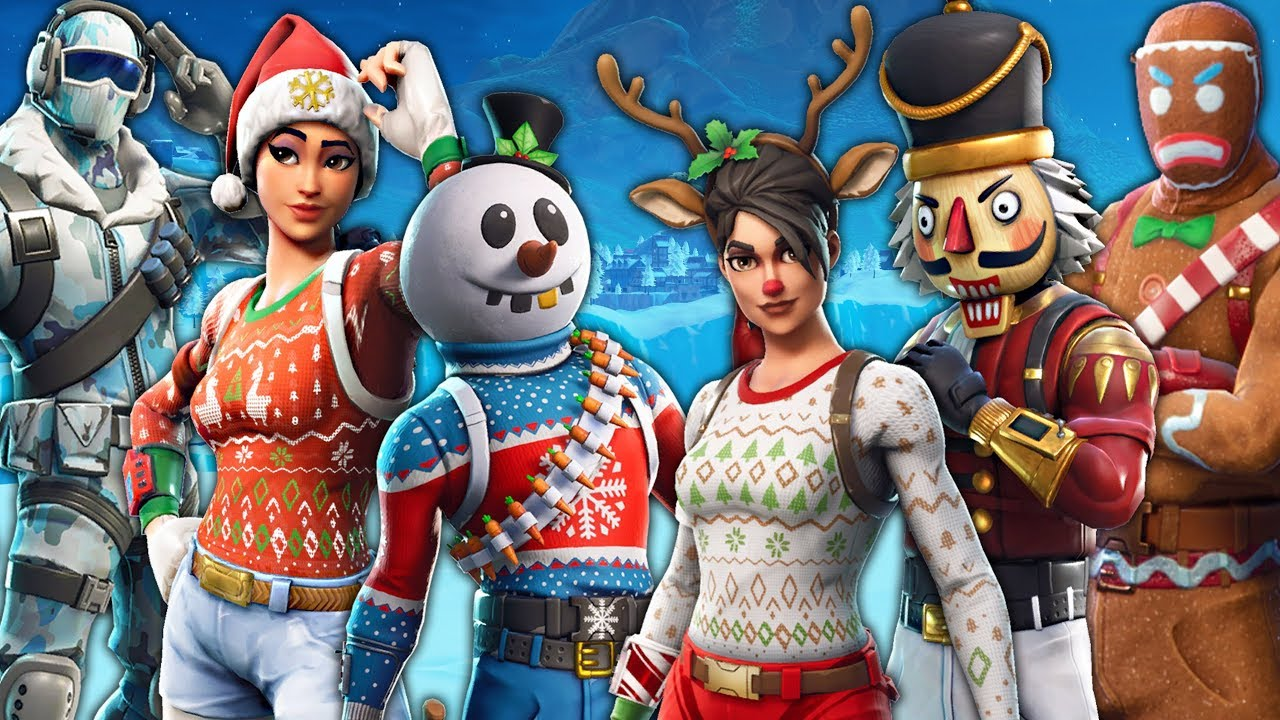 All Christmas Skins Fortnite.I Can Only Kill Christmas Skins In Fortnite