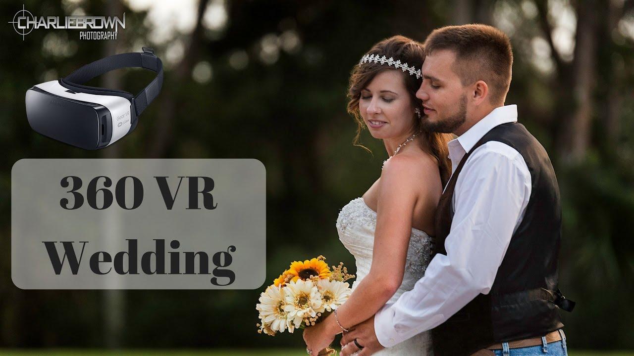 Vr 360 Wedding Ceremony: (360-VR) Tiffany And Cody Wedding Video