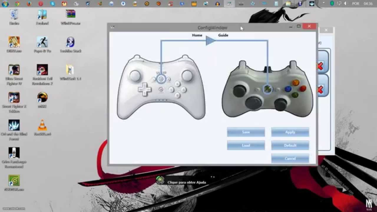 how to set up xbox 360 in wii controller dolphin