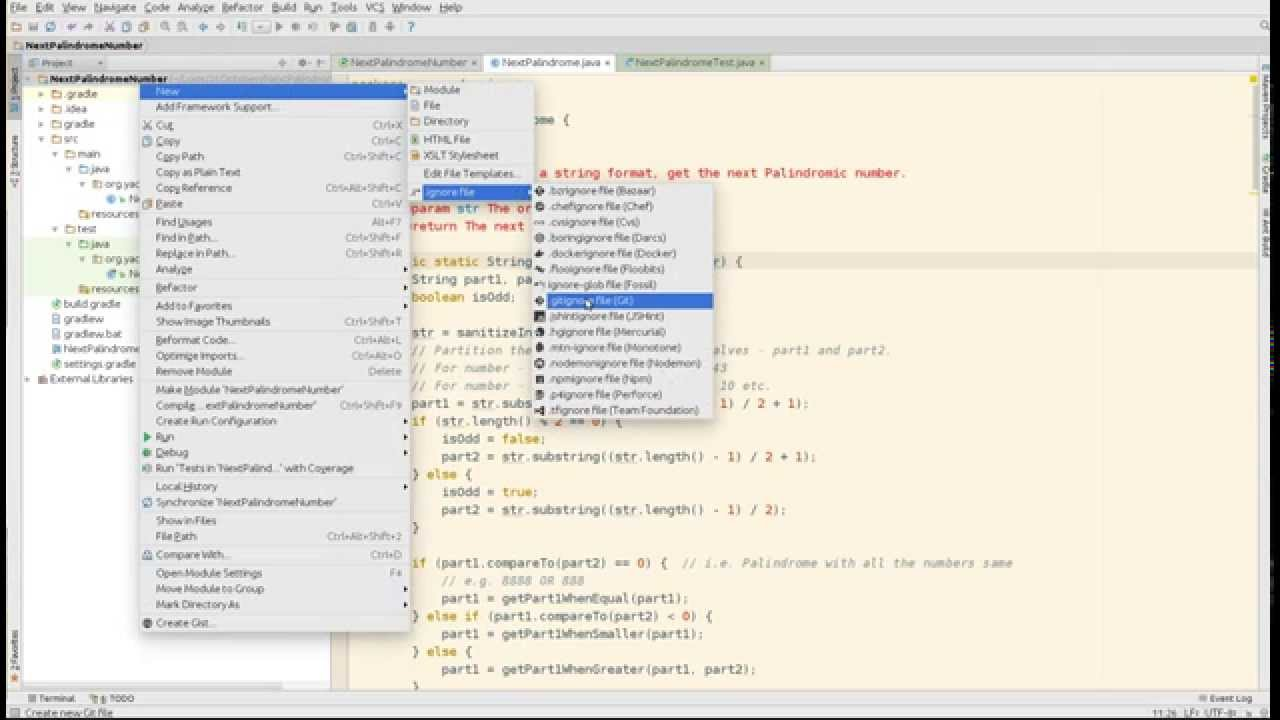 IntelliJ Idea Java gradle project