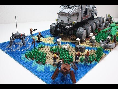 Lego Star Wars MOC: Trandoshanischer Überfall auf Kashyyyk