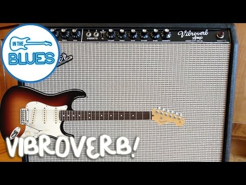 "SRV '64 Fender Vibroverb ""Cesar Diaz"" Modded Amplifier (Stratocaster)"