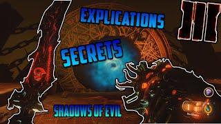 SHADOWS OF EVIL : EXPLICATION COMPLETE DU SECRET !! (Arme secrète, épee, PackaPunch...) | FR |