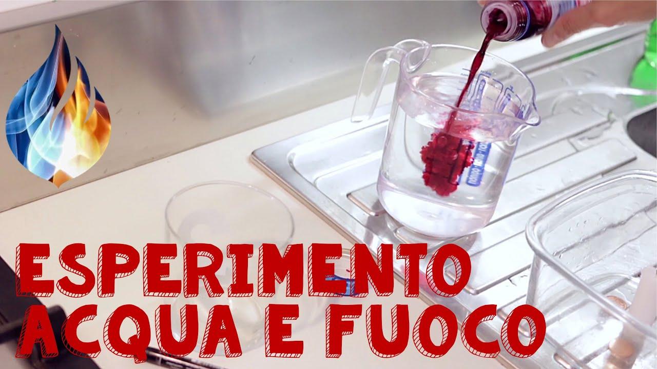 spesso Esperimento con acqua e fuoco fai da te: il risucchio - YouTube OG75