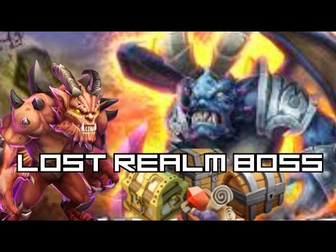 Castle Clash Lost Realm Boss-Here Be Demon