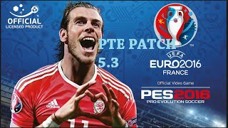 PES 2016 PTE PATCH 5.3 (EURO PATCH)