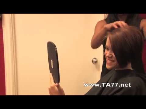 Undercut with nape shaved under very long hair and bangs from YouTube · Duration:  12 minutes 30 seconds