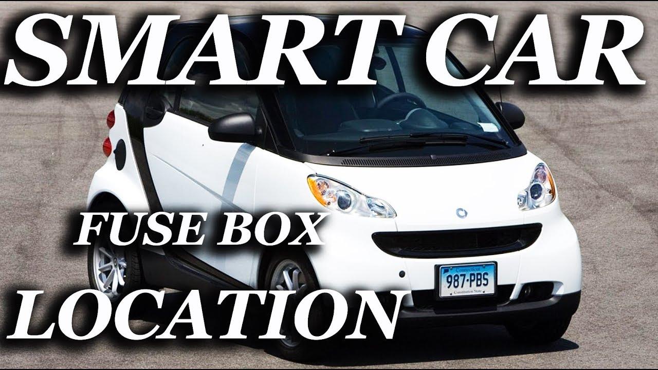 FUSE BOX LOCATION ON A SMART CAR - YouTubeYouTube