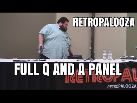 Thumbnail: FULL PANEL FROM RETROPALOOZA!