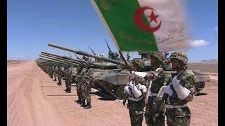 مناورات الجيش الجزائري من تندوف ستمحي المغرب من الخريطة 2016