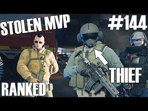 Rainbow Six Siege: Ranked - Stolen MVP Celebration