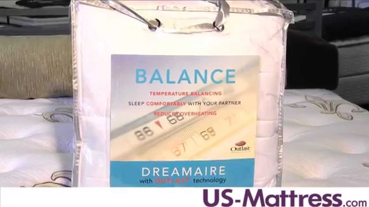 Design Weave Dreamaire Outlast Mattress Pad Youtube