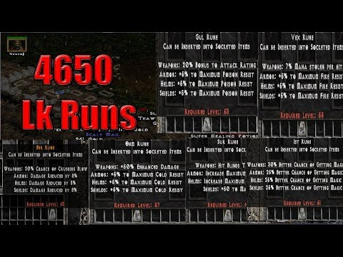 💢 4650 LOWER KURAST RUNS - Which Runes Did We Find? 💢