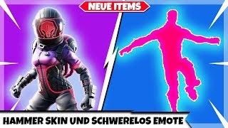 NEW HAMMER SKIN AND SCHWERELOS EMOTE 😍 | DISABLED TRAVELERS | Fortnite New Shop Today 22.08