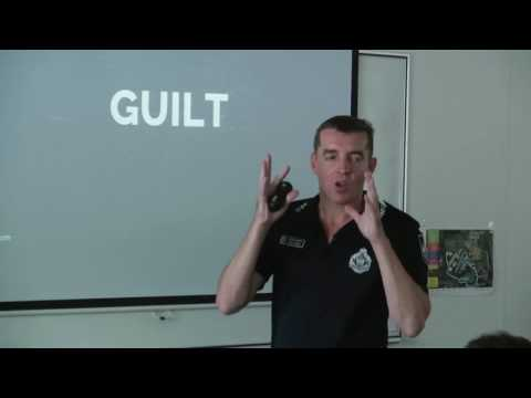 'Dealing with unexpected distressing trigger' – Queensland Police Academy, Brisbane