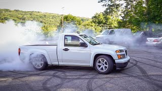 homepage tile video photo for THE LT4 SWAPPED COLORADO IS DONE...THEN I DROVE IT 1300 MILES!
