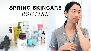 Spring Skincare Routine 2018, spring skincare, skincare, asian beauty, skincare routine