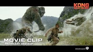 Kong: Skull Island ['Monster Battle' Movie Clip in HD (1080p)]