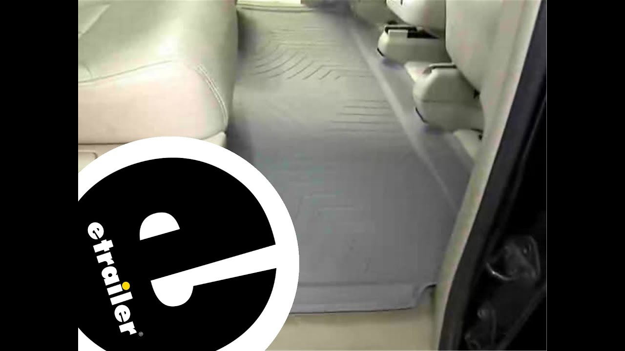 WeatherTech Rear Floor Liner Review   2006 Honda Odyssey   Etrailer.com