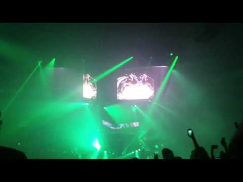 Bassnectar NYE 360 16-17 - Frog Song with Android Jones live visuals