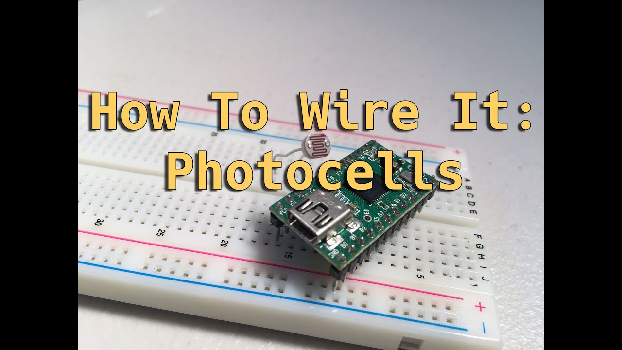 How To Wire It! Photocells - YouTube
