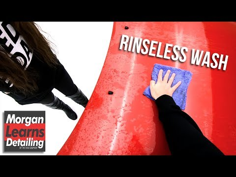 How To Use A Rinseless Wash | MORGAN LEARNS DETAILING