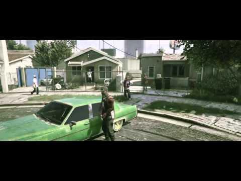 GTA V - Music clip (KRS-ONE - Sound Of Da Police)