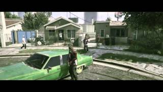 GTA V - Music clip (KRS-ONE - Sound Of Da Police)