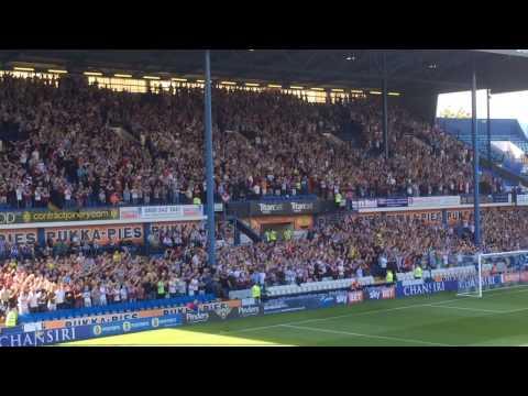 Sky Bet Championship EFL Sheffield Wednesday V Aston Villa Song