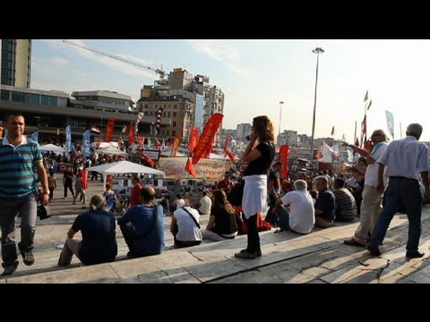 Turkish protesters want the Prime Minister to listen