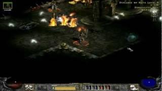 Diablo 2 LoD: Frenzy Barbarian Gameplay