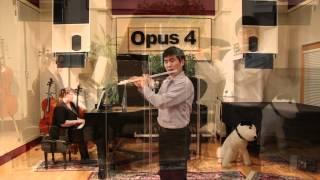 Opus 4 Studios: Fred Kim, flute - Flute Concerto, Mv