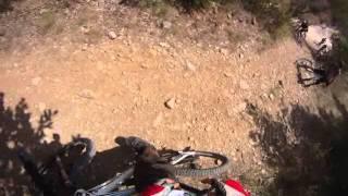 11 - VTT Ardèche - Passage du Rieusset au Mas de la Rude - Vagnas