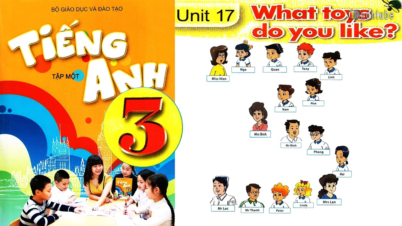 Tiếng Anh Lớp 3: UNIT 17 WHAT TOY DO YOU LIKE – FullHD 1080P