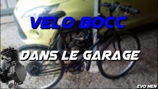 vélo 80cc DANS MON GARAGE  Evo Men