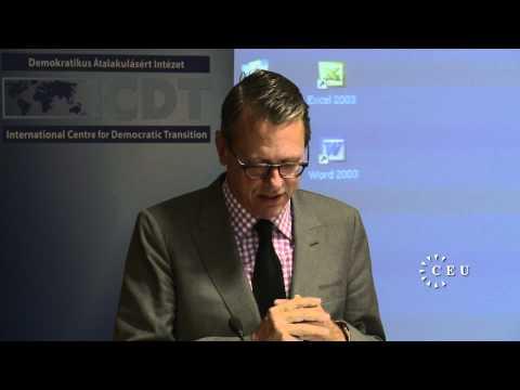 At CEU, terror expert William Rosenau talks the ch...
