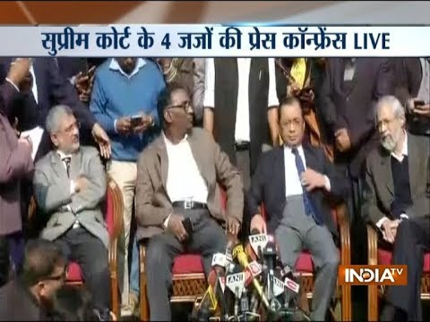 The administration of the Supreme Court is not in order, says Justice J Chelameswar