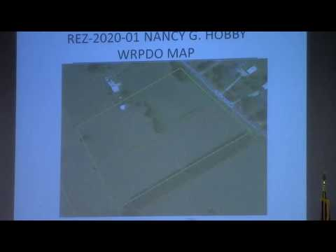 5a. REZ-2020-01 Nancy G. Hobby, 2626 Loch Laurel Rd. R-1 to E-A