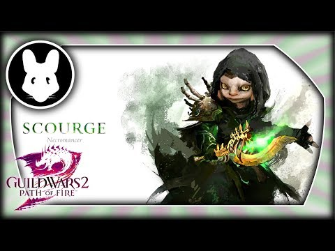 Guild Wars 2: Necromacer Scourge - Elite Specialization for the Path of Fire expansion!