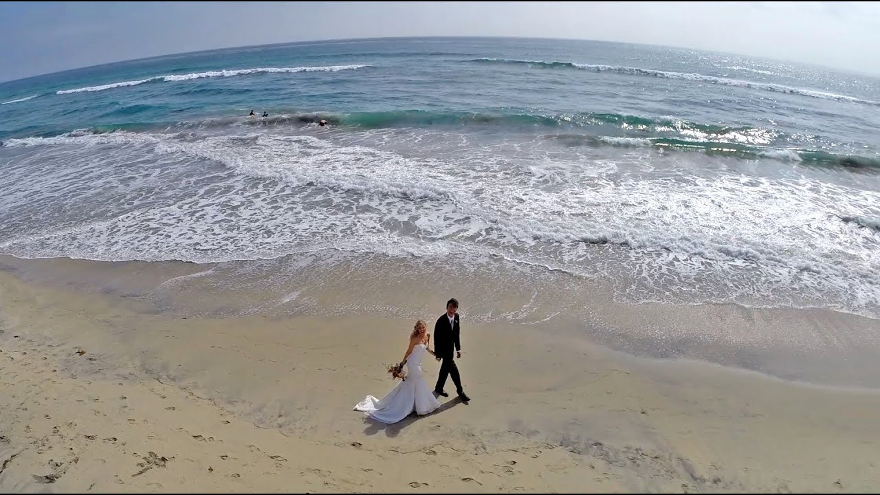 Logan Cortneys Wedding Aerial