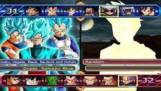 Baixar Super Saiyajin´s Blue VS Five Random - Dragon Ball Z Budokai Tenkaichi 3