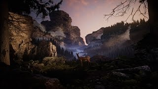 Creating a quick Unreal Engine 4 Mountain Valley Scene