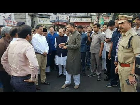 AIMIM Floor Leader Akabruddin Owaisi inspected various locations & pending developments works