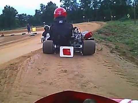 Kaylas Midway Heat Race Kart Crash