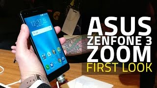 Asus ZenFone 3 Zoom Camera Smartphone First Look