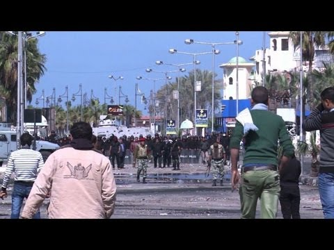 Police 'not welcome' in Egypt's Port Said