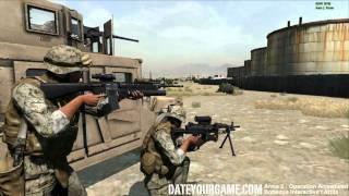 Arma 2 Operation Arrowhead gameplay with the 15th MEU Unit